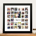 Beautiful-Photo-Collage-Framed-Wall-Art