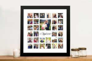 Beautiful Photo Collage Framed Wall Art