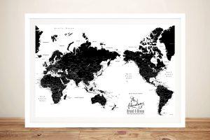 Buy Cheap Custom Pushpin Maps Online