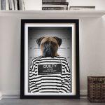 Convicted-Pet-Portrait-Framed-Art