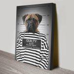 Convicted-Dog-Portrait-canvas-print