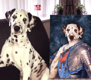Dauphin of France Personalised Pet Art