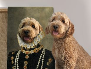 Buy a Custom Countess Dog Portrait Print