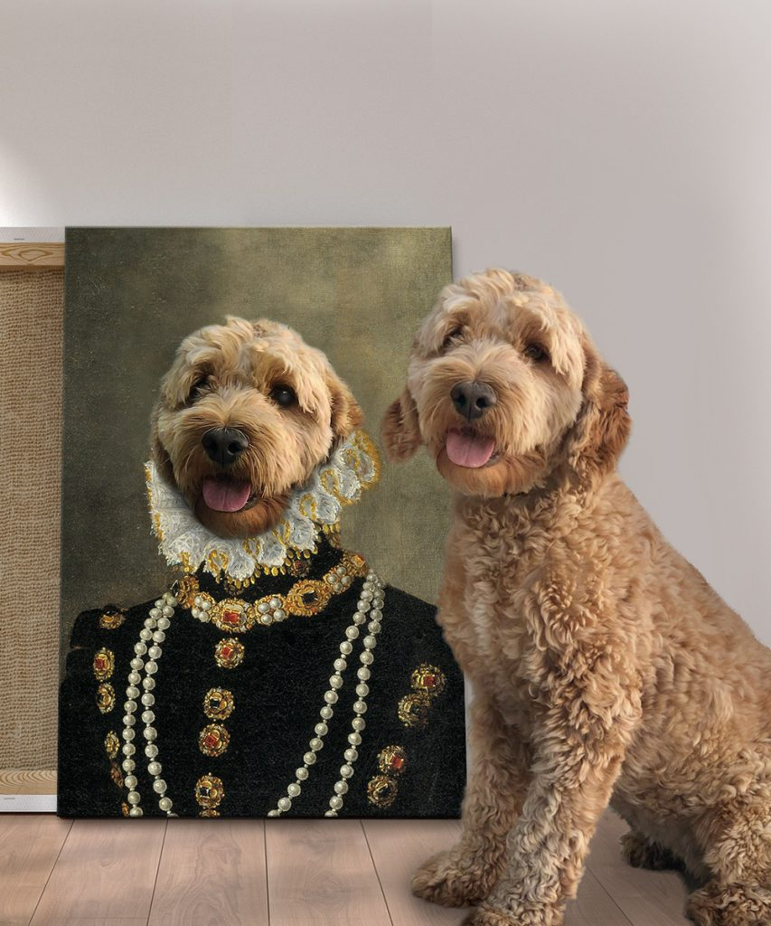 Buy a Custom Countess Dog Portrait Print