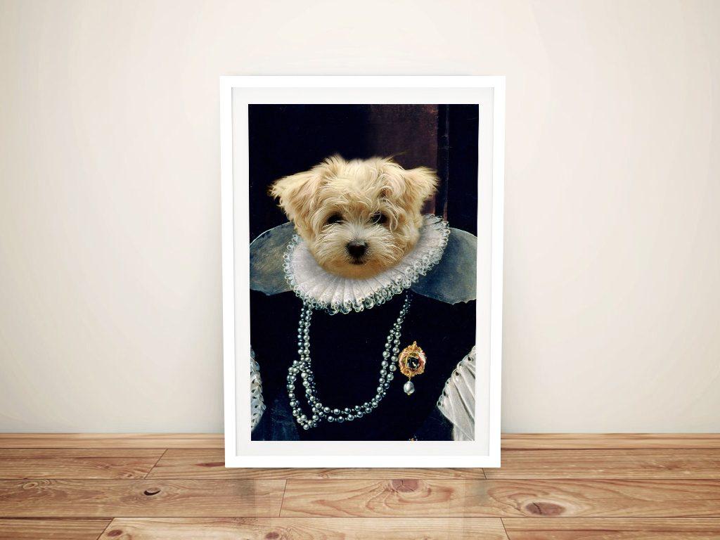 Buy Crown & Paws Pet Portrait Prints Online