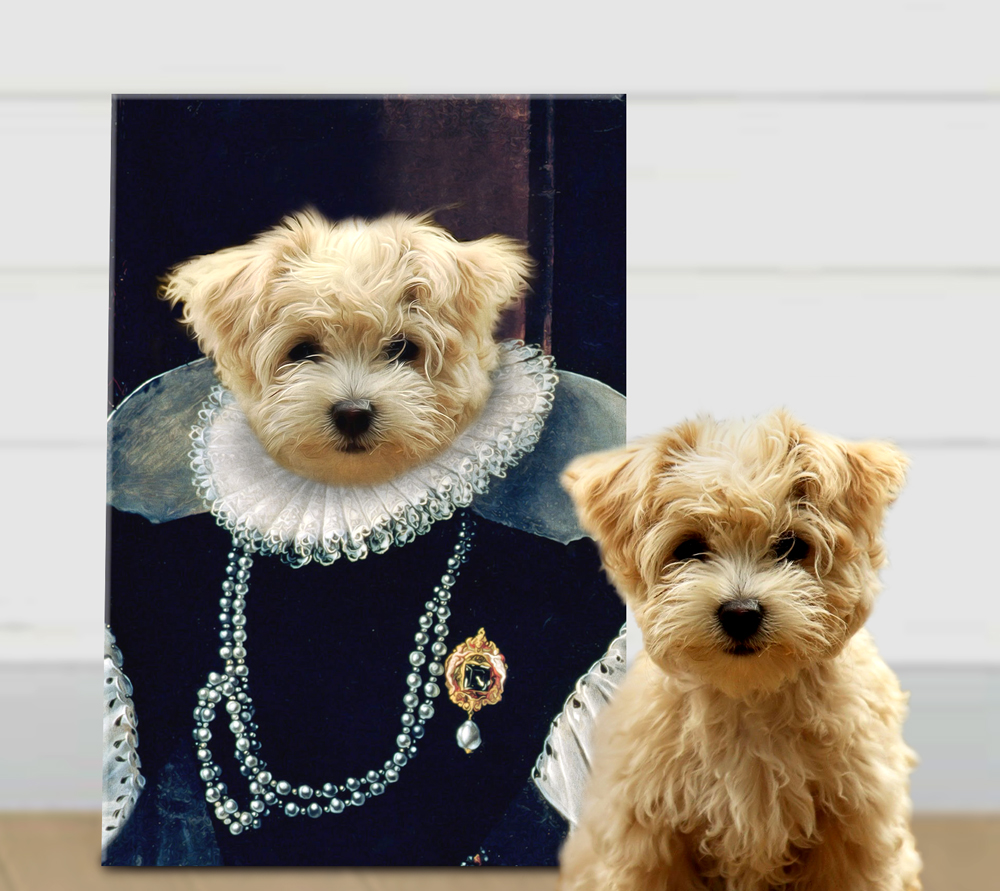 Buy a Custom Baroness Personalised Pet Portrait | Baroness