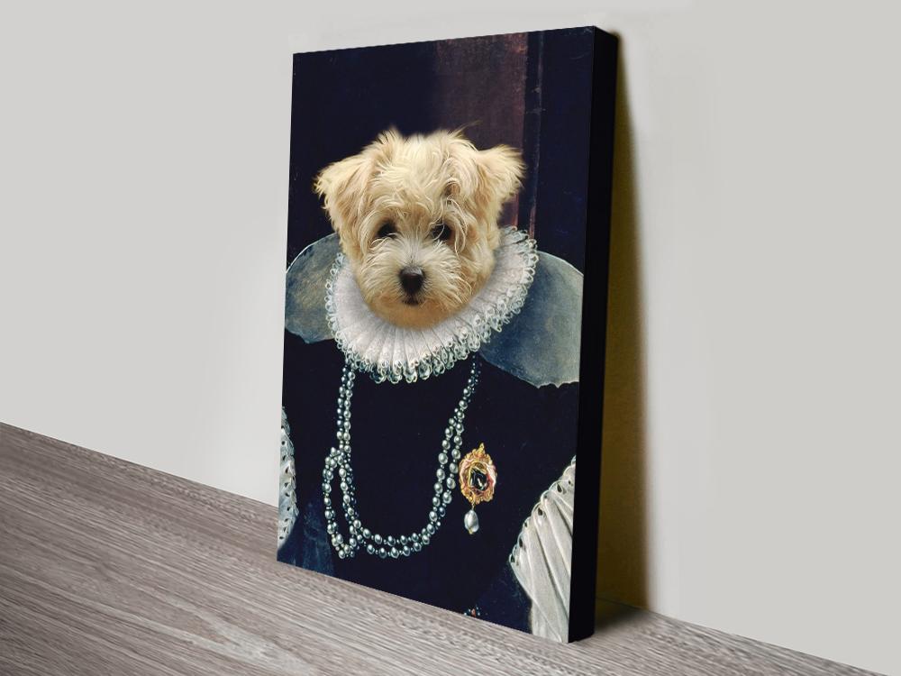 Buy a Custom Baroness Pet Wall Art Cheap Online