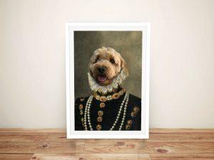 Buy Affordable Pet Portrait Wall Art Online