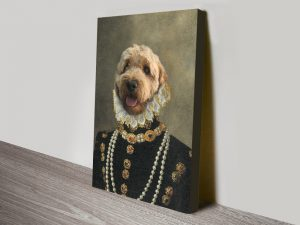 Buy a Countess Pet Portrait from Crown & Paw