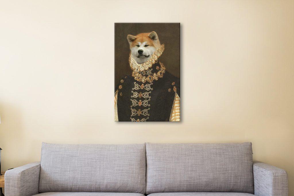 Buy a Ready to Hang Custom Pet Portrait AU