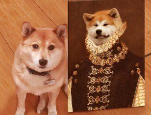 Buy a Crown & Paws Custom Dame Pet Portrait