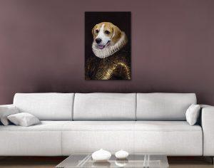 Dog Portrait Canvas Art