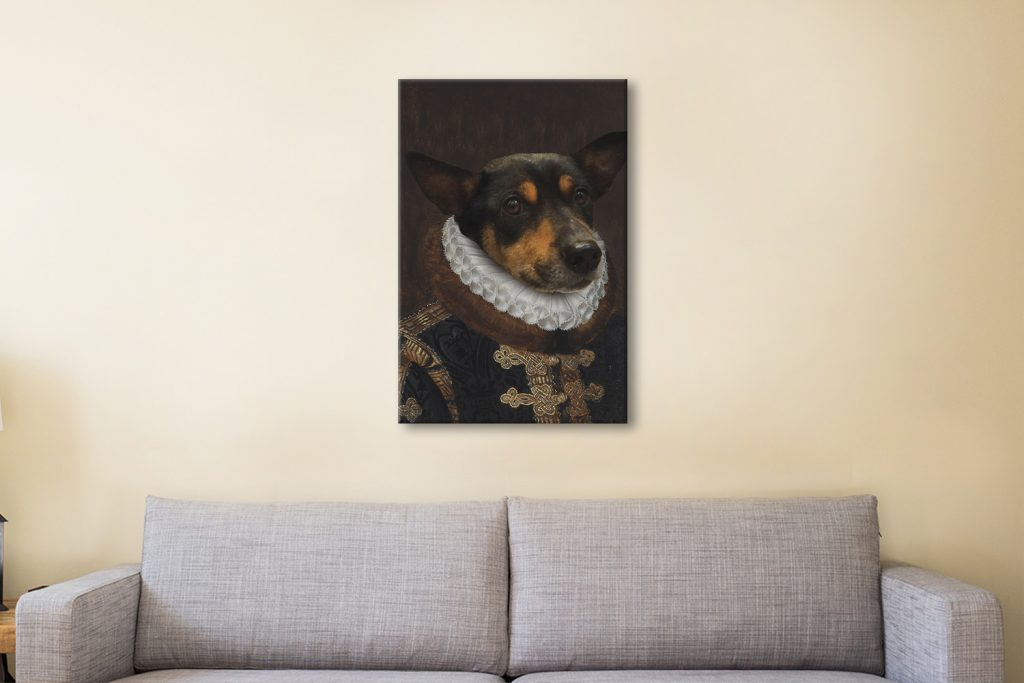Crown and Paws Art