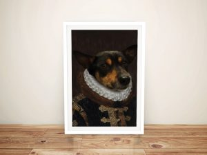 Custom Prince Royal Pet Aristocracy Portrait