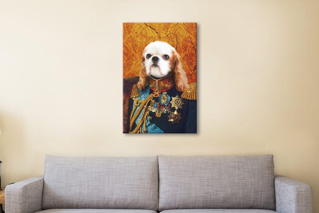 General Pet Portrait Canvas Artwork