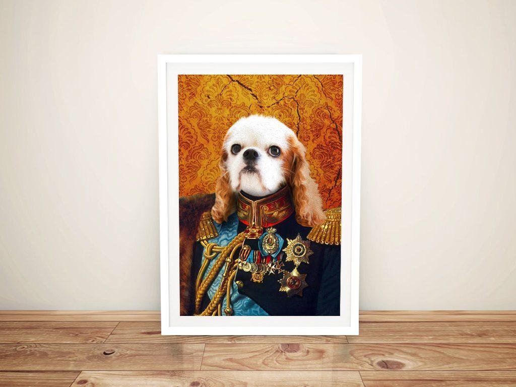 Custom Dog Pet Portrait Wall Art