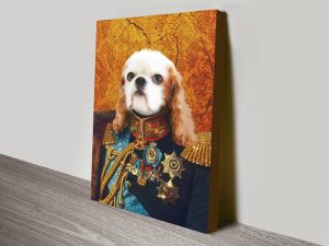 Personalised Dog Pet Portrait Wall Art