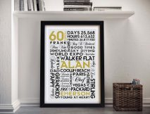 Buy Cheap Personalised Word Canvas Art