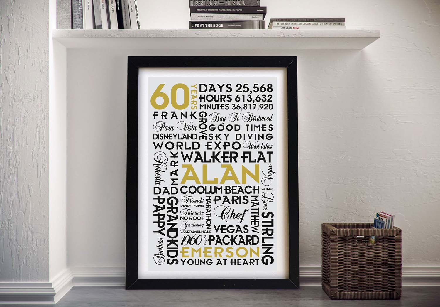 Buy Cheap Personalised Word Canvas Art | Good Times