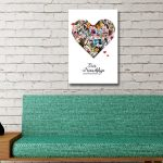 Ready-to-Hang-Personalised-Heart-Collage-Art-AU