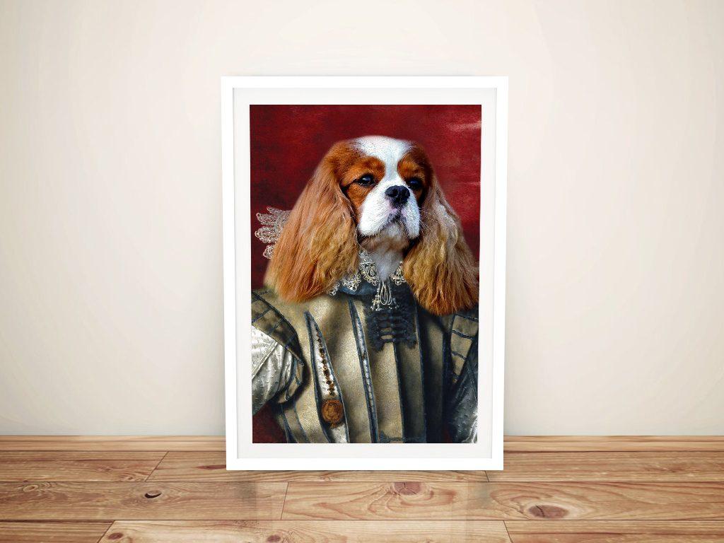 Custom Aristocracy Dog Portrait Artwork