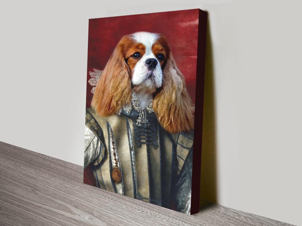 Aristocracy Dog Portrait Art