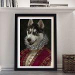 Marchioness-Framed-Pet-Portrait-Art