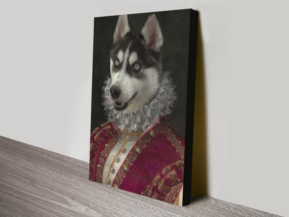 Marchioness Pet Portrait canvas print