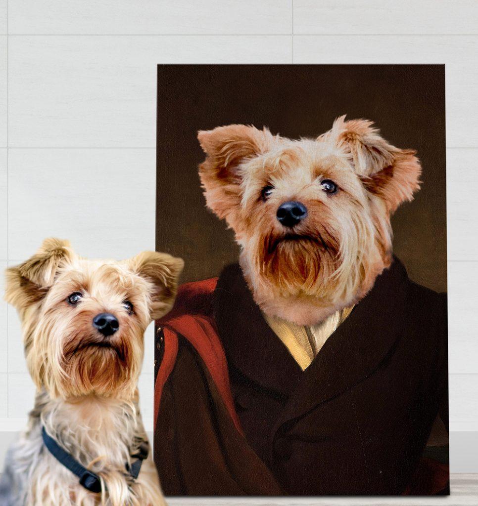 Custom Marquess Royal Pet Aristocracy Portrait