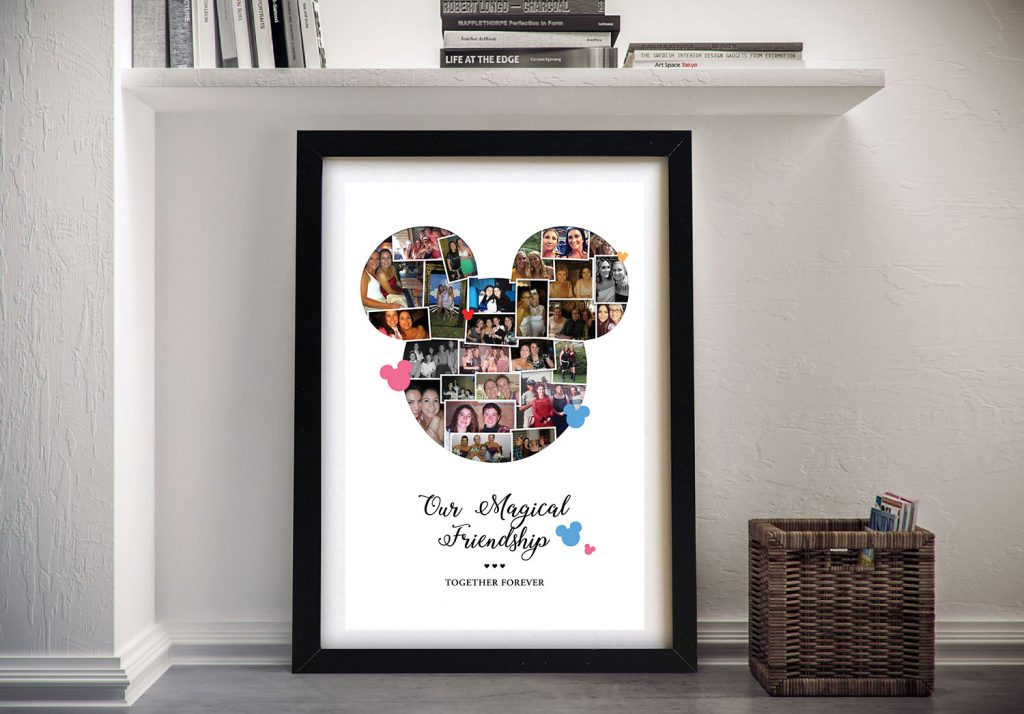 Buy Mickey Mouse Photo Collage Framed Artwork