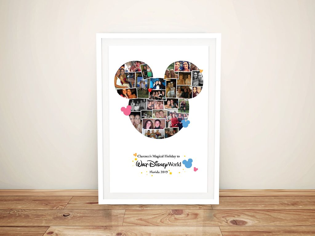 Ready to Hang Personalised Disney Collages AU