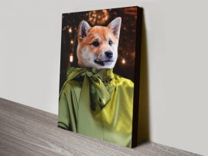 Buy a Fashionista Pet Portrait from Crown & Paws AU