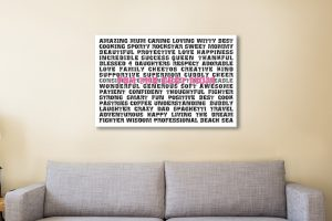 Mothers Day Gift Canvas Artwork