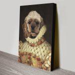 Custom-Dog-Portrait-Spaniel-Canvas-Print
