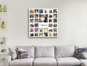 Create Photo Collage Canvas Prints
