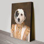 Princess-Pet-Portrait-canvas-print