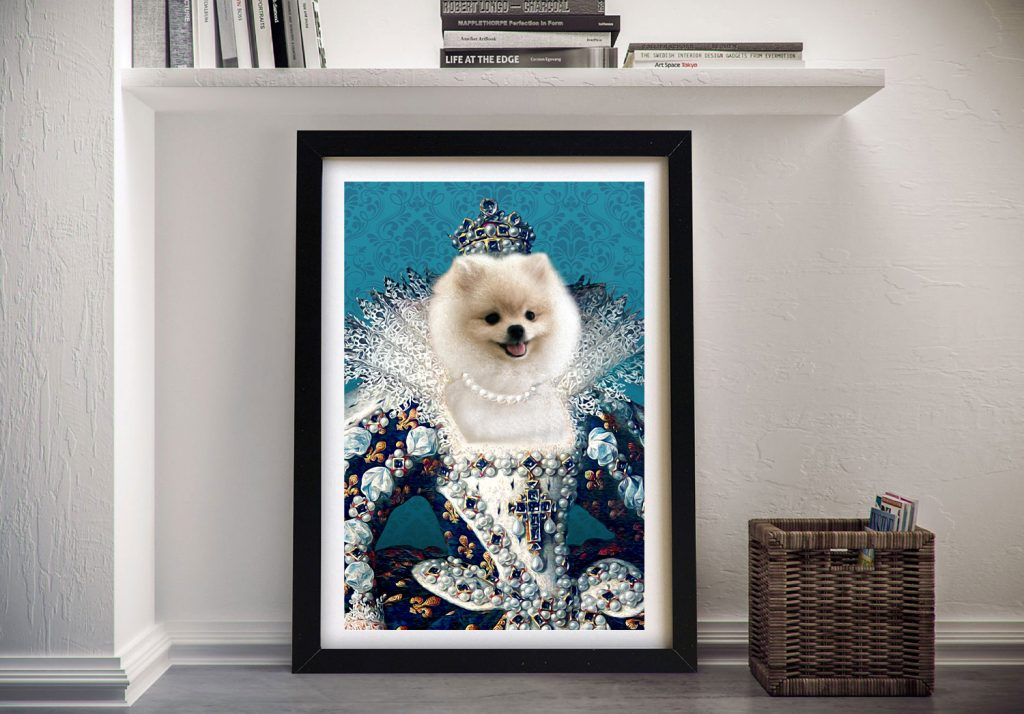 Turn your Pet into Royalty with Custom Pet Portraits