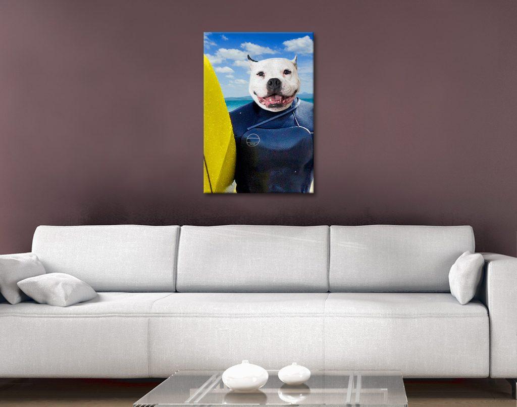 Buy Custom Pet Portraits at Crown & Paw Online