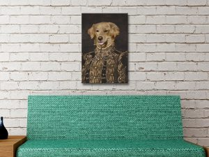 Buy Pet Portrait Wall Art Noble & Posh Online