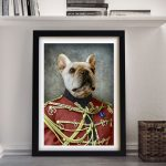 The-Colonel-Pet-Portrat-Framed-Wall-Art