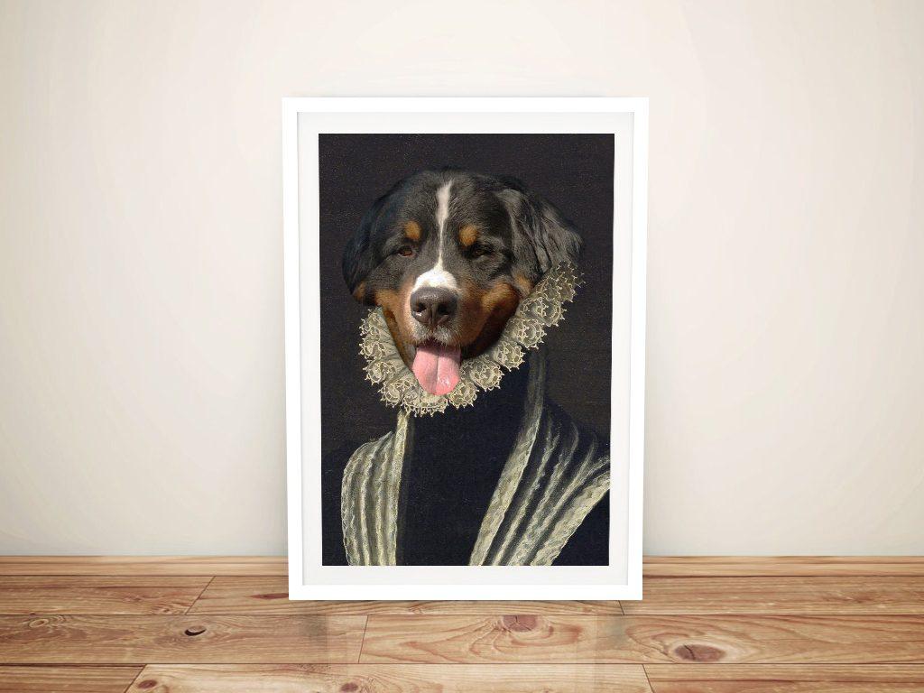 The Duchess Pet Portrait Art
