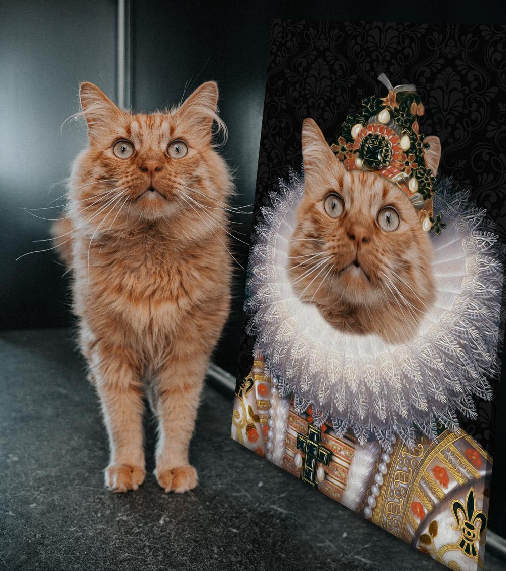 The Monarch Pet Portrait Art | The Monarch