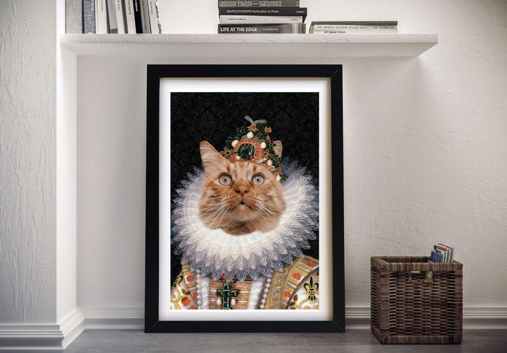 The Monarch Pet Portrait Wall Art