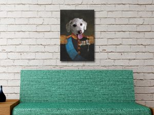 Tsar Pet Custom Canvas Artwork