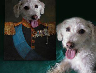 Tsar Custom Royal Pet Art