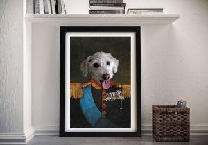 Tsar Pet Framed Wall Art