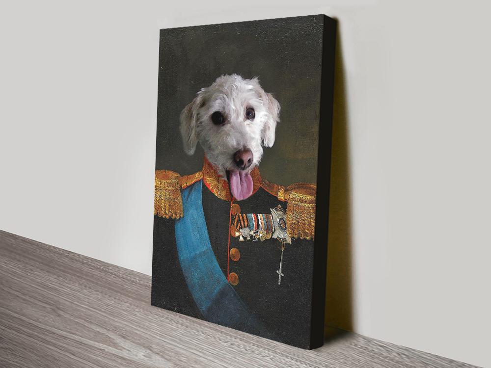 Tsar Pet Art print