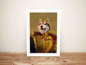 Custom Viscount Pet Framed Wall Art