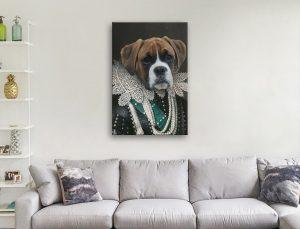 Viscountess-Custom Pet Canvas Artwork