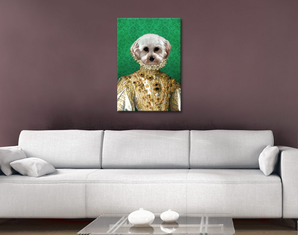 Buy Affordable Custom Pet Portraits Online